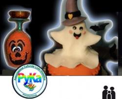 Palermo bimbi eventi a palermo pykart ghost cake for Decorazione torte ginnastica ritmica